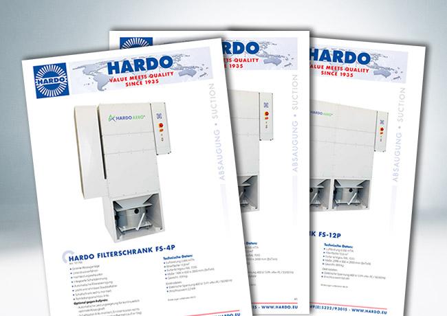 HARDO AERO+ Filterschrank / Schuhreparatur + Orthopädieschuhtechnik