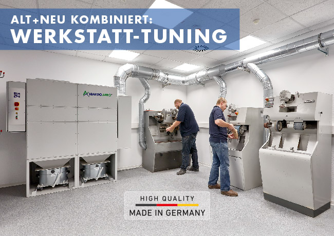 alt und neu kombiniert: Werkstatt Tuning / Schuhreparatur + Orthopädieschuhtechnik
